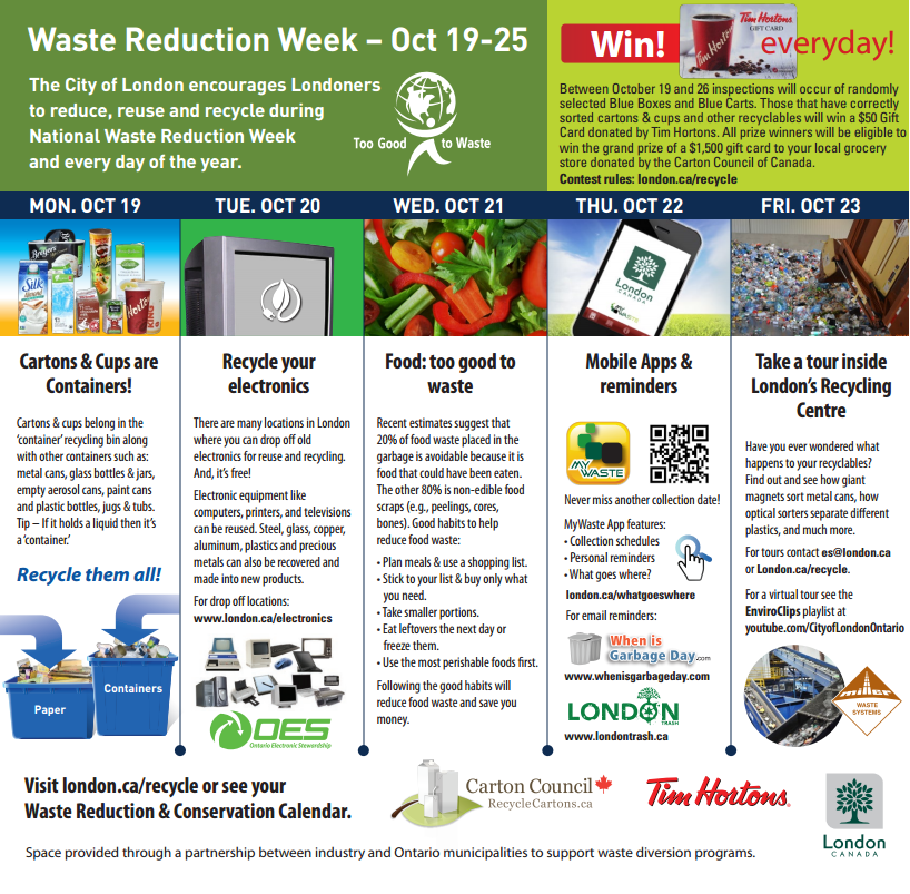 LEN Waste Reduction Week