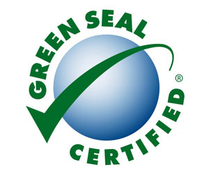 Building Services use certified green cleaning product